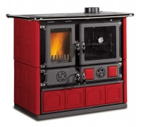 Дровяная печь-плита Nordica ROSA 4.0 - MAIOLICA bordo (8,4 кВт)