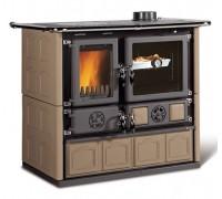 Дровяная печь-плита Nordica ROSA 4.0 - MAIOLICA tortora (8,4 кВт)