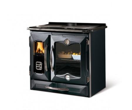 Печь- плита на дровах Nordica SUPREMA 4.0 black