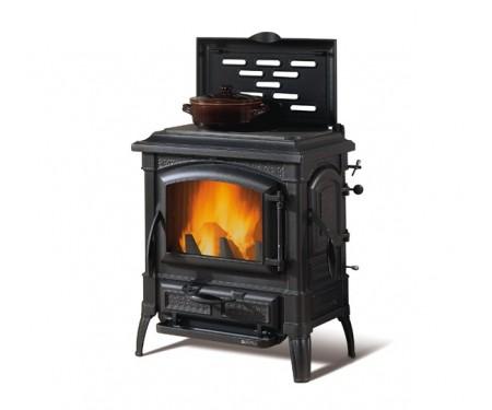 Чугунная дровяная печь Nordica ISETTA CON CERCHI EVO 4.0
