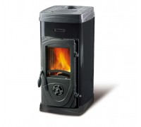 Дровяная печь Nordica SUPER JUNIOR black (5 кВт)