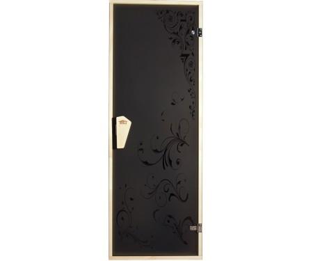 Дверь для бани и сауны «Гортензия» 1900 х 700