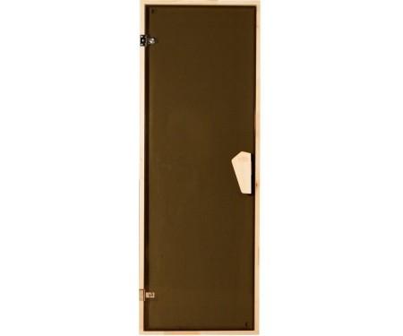 Дверь для бани и сауны Tesli Briz Sateen 1900 x 700