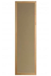 Стеклянное окно Saunax Classic 49x189x9 (бронза)