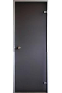 Стеклянные двери для хаммама Saunax Classic 69x189 (бронза)