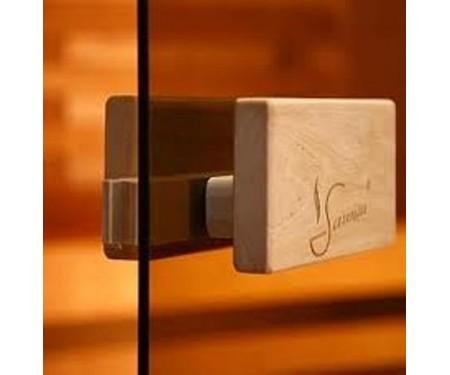 Стеклянные двери Saunax Classic 69x189 (бронза)