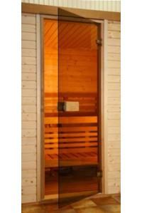 Стеклянные двери Saunax Classic 79x199 (бронза)